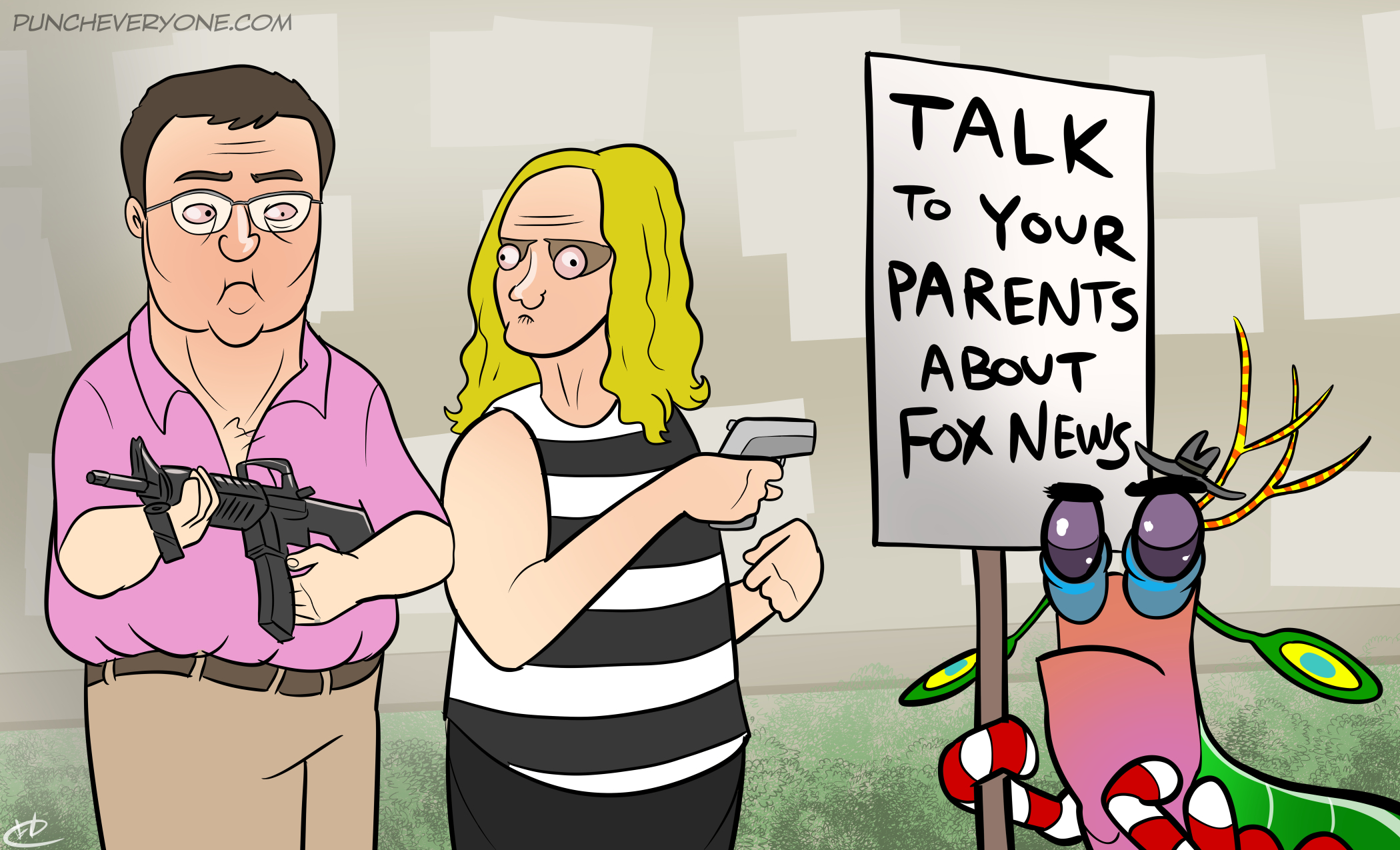 No, seriously talk to your parents about Fox News.